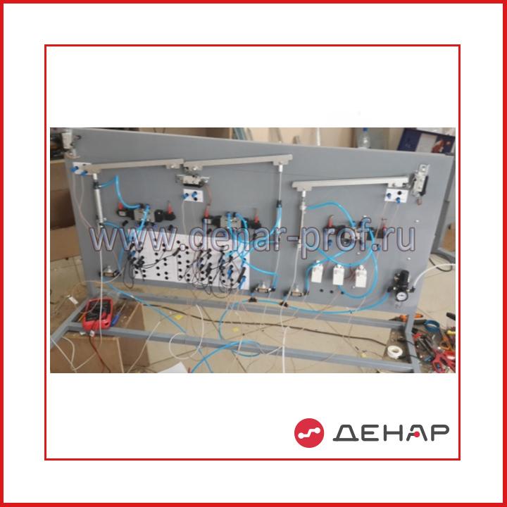 Типовой комплект учебного оборудования «Управление технологическим оборудованием на основе релейно-контактных устройств»