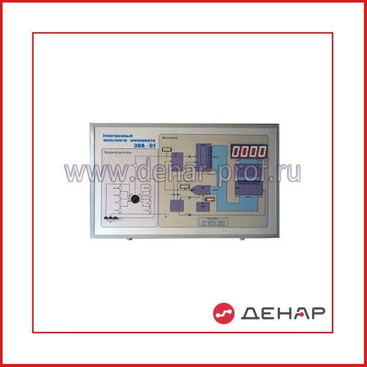 Электронный вольтметр-амперметр ЭВА-01