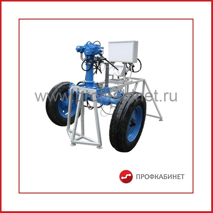 НТЦ-15.39.1 Испытание и диагностирование рулевого управления трактора с гидроусилителем интегрального типа и гидравлической системой управления блокировкой дифференциала
