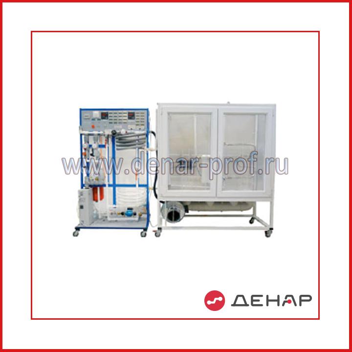 Типовой комплект учебного оборудования «Теплоснабжение и отопительные приборы» ТСОП-СТ-13ЛР-10