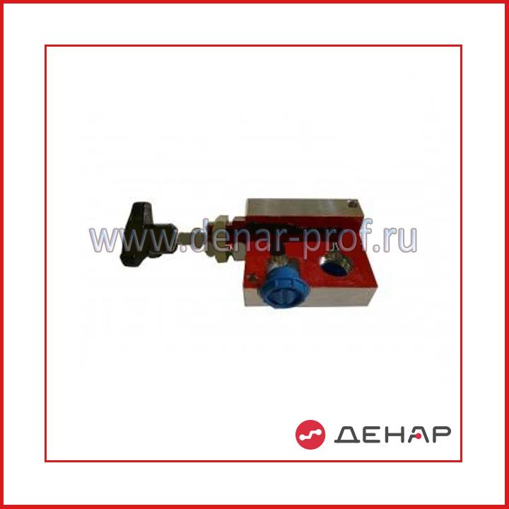 Разрезная модель клапана предохранительного прямого действия трубного мотажа
