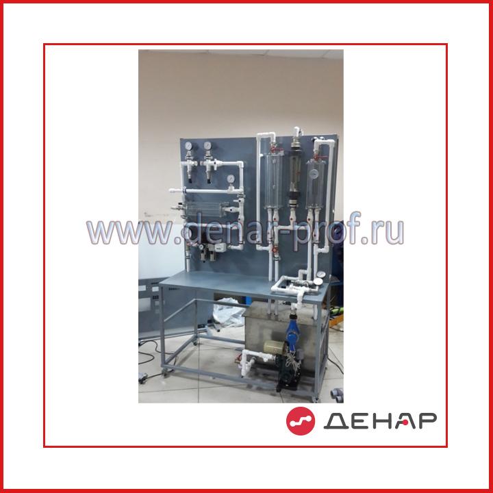 Типовой комплект учебного оборудования «Измерительные приборы в гидравлике и газодинамике» ИПГиГЗ
