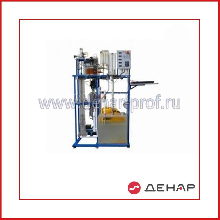 Стенд учебный «Модель гидропоршневой насосной установки» НФТ-МГПНУ-010-5ЛР-01