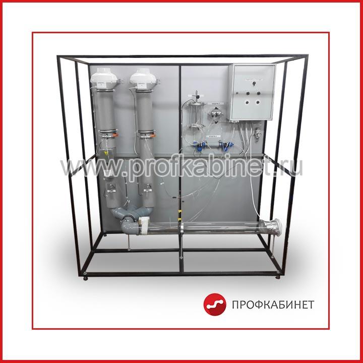 Лабораторный стенд «Техническая термогазодинамика» (ТЕТ-ГАЗ) ТТГД-011-05ЛР-01