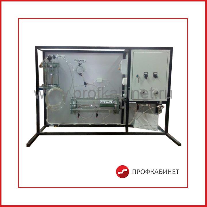 Типовой комплект учебного оборудования Теплотехника газа ТПГ-010-5ЛР-01