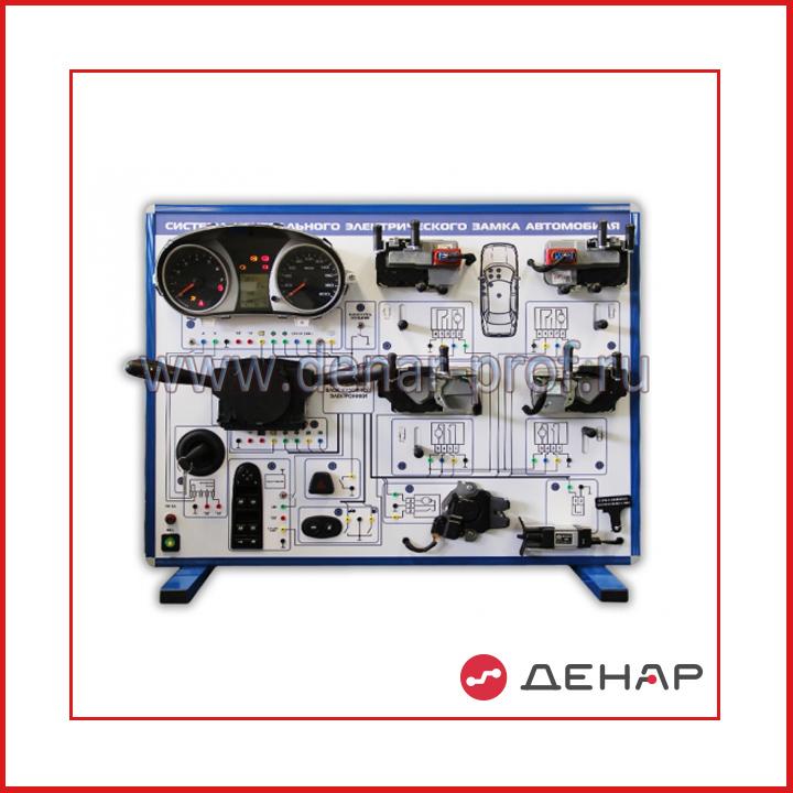 """Комплект учебно-лабораторного оборудования """"Система центрального электрического замка автомобиля"""""""