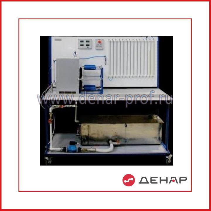 Типовой комплект учебного оборудования «Гидростатика-М» ГС-09-5ЛР-01
