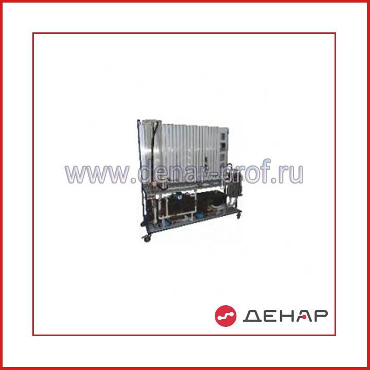 Типовой комплект учебного оборудования «Основы общей гидравлики» ООГ-08-6ЛР-01