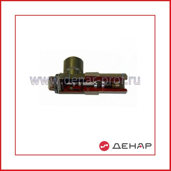 Разрезная модель управляемого обратного клапана (пневмозамок)