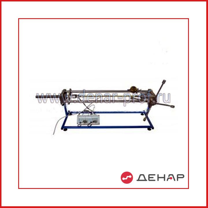 Типовой комплект учебного оборудования «Устойчивость продольно сжатого стержня»