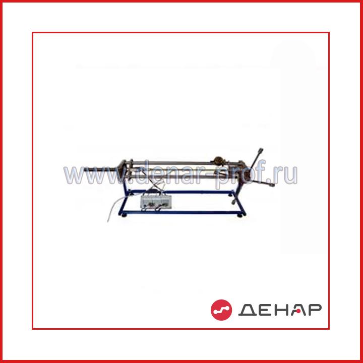 Экспериментальная установка «Устойчивость продольно сжатого стержня». ТМ-УПСС-014