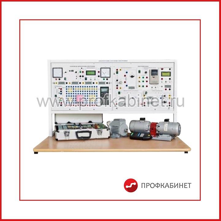 """Типовой комплект учебного оборудования """"Электротехника и основы электроники"""", исполнение стендовое компьютерное минимодульное, 2 моноблока, ЭТиОЭ-М2-СКМ"""