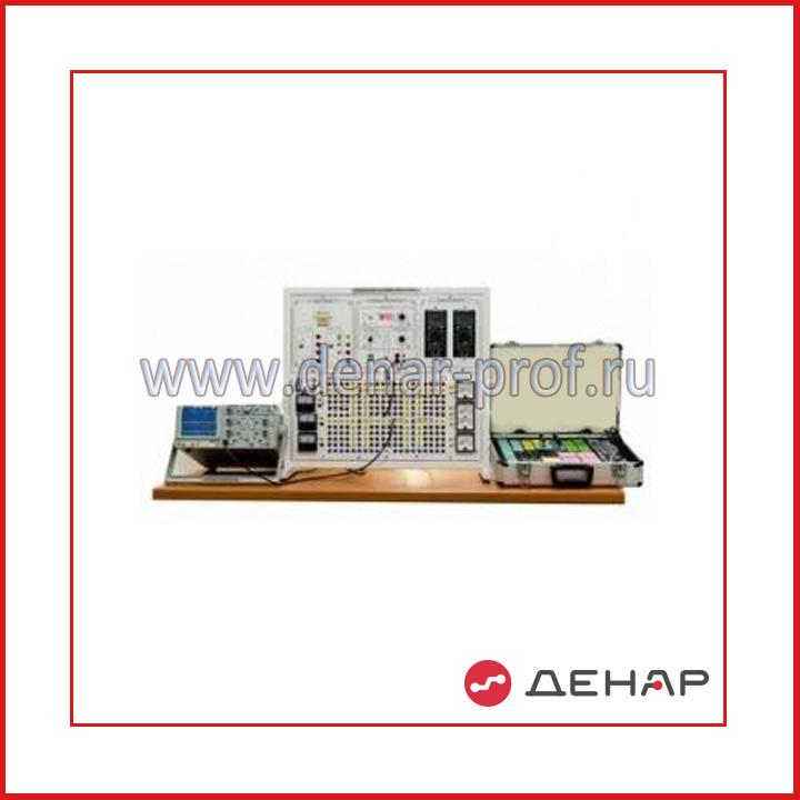 """Типовой комплект учебного оборудования """"Физические основы электроники"""", исполнение настольное ручное минимодульное с осциллографом ФОЭ- НРМА"""