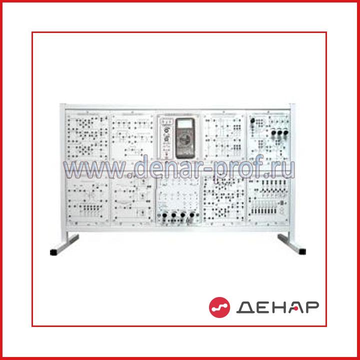 Типовой комплект учебного оборудования «Аналоговая электроника», исполнение настольное, ручное АЭ-НР