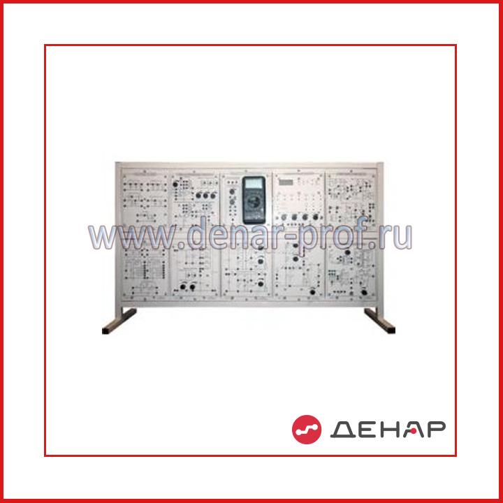 Типовой комплект учебного оборудования «Электроника», исполнение настольное, ручное Э-НР
