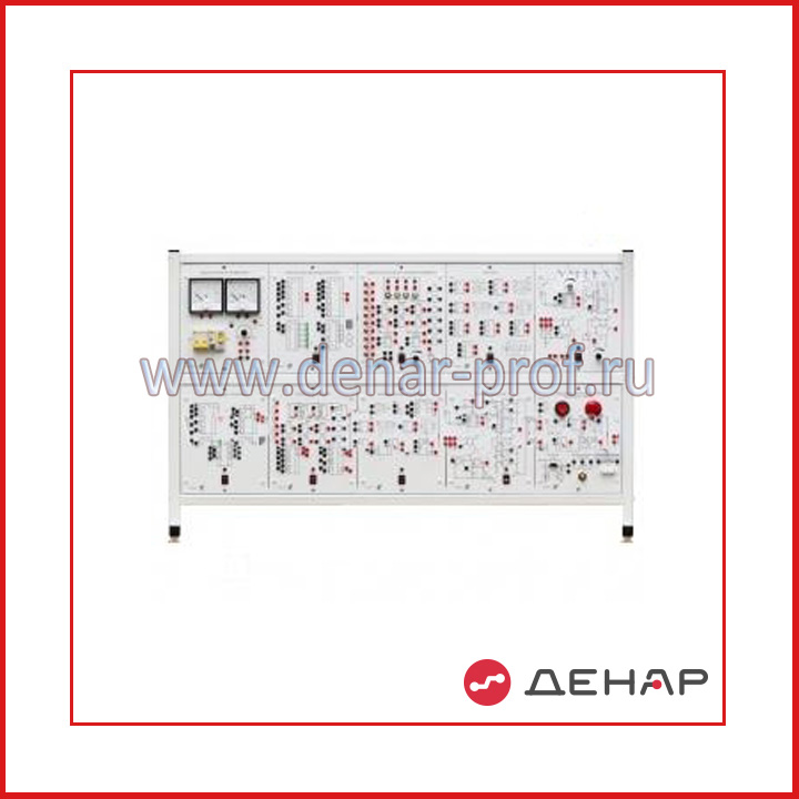 Типовой комплект учебного оборудования  «Элементы систем автоматики и вычислительной техники», исполнение настольное, компьютерное ЭСАиВТ-НК (без ПК)