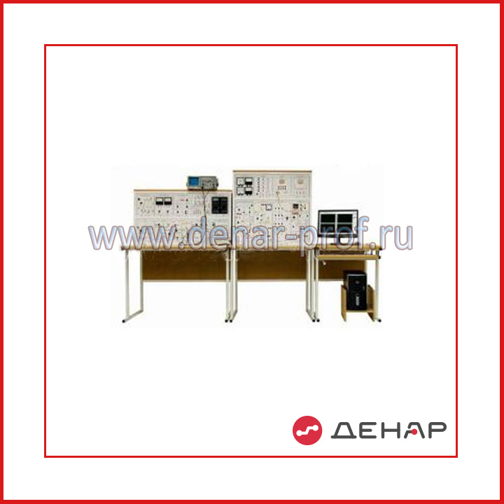 """Типовой комплект учебного оборудования """"Промышленная электроника"""", исполнение стендовое компьютерное с осциллографом, ПЭ-СКА"""