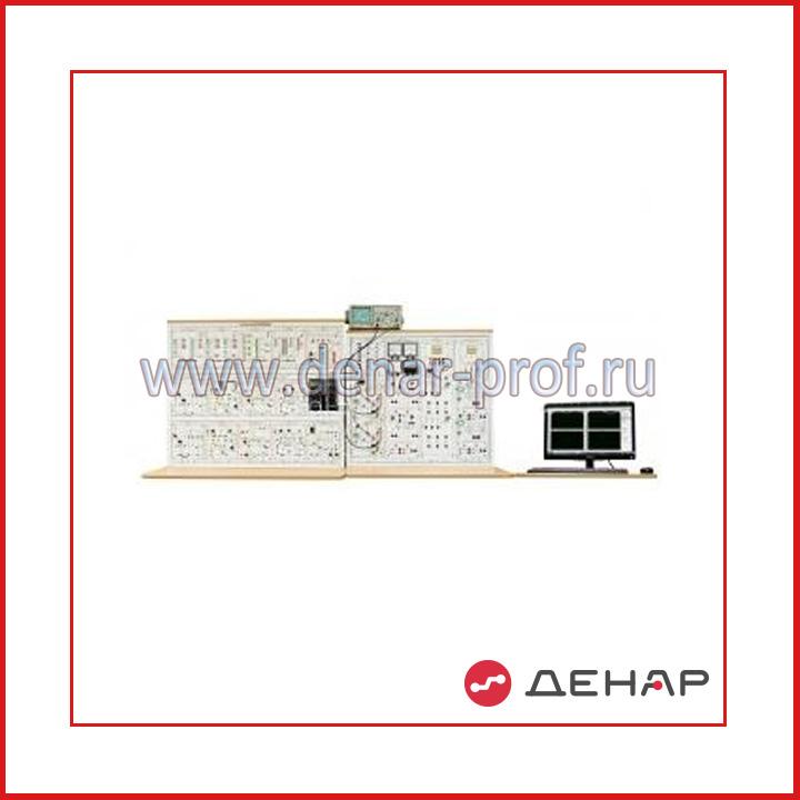 """Типовой комплект учебного оборудования """"Промышленная электроника-2"""", исполнение стендовое компьютерное, ПЭ2-СКА"""