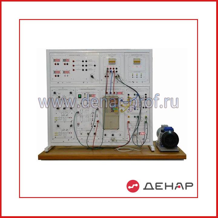 """Типовой комплект учебного оборудования """"Силовая электроника и электропривод"""", исполнение настольное ручное, СЭиЭП-НР"""