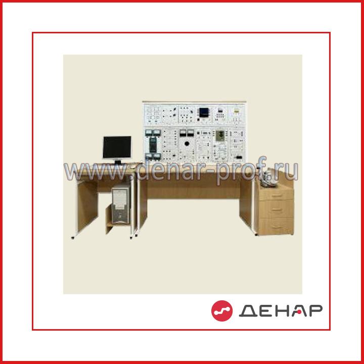 """Типовой комплект учебного оборудования """"Электрические машины"""", исполнение стендовое компьютерное, ЭМ-СК"""