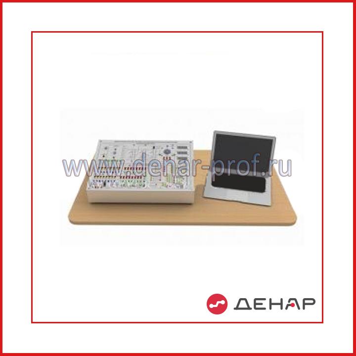 """Типовой комплект учебного оборудования """"Микропроцессорная система управления вентильным двигателем"""", исполнение моноблочное с ноутбуком, МПСУ2-ВД-МН"""