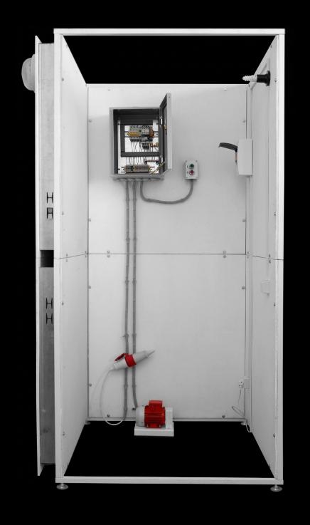 Набор для монтажа в комнате электромонтажника схем управления трехфазным асинхронным двигателем с короткозамкнутым ротором  НКМ1-СУАД
