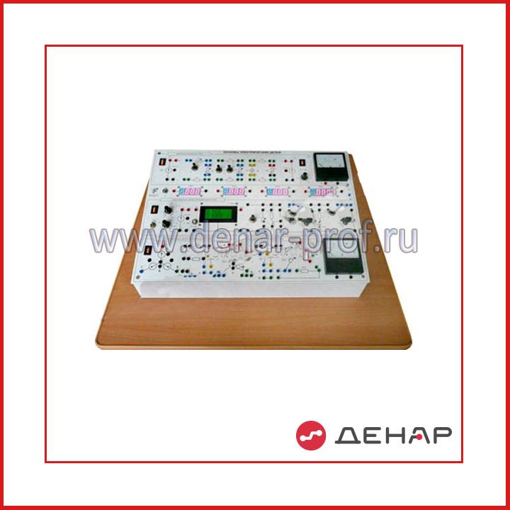 Типовой комплект учебного оборудования «Электрические цепи», исполнение моноблочное ручное (ЭЦ-МР)