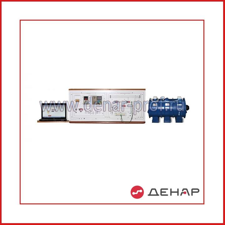 """Типовой комплект учебного оборудования «Ветроэнергетическая система на базе асинхронного генератора, работающего на сеть"""", исполнение настольное компьютерное, ВЭС-АГ-НК"""