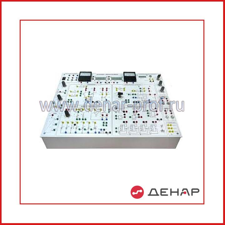 Типовой комплект учебного оборудования «Основы электроники», исполнение моноблочное ручное (ОЭ-МР)