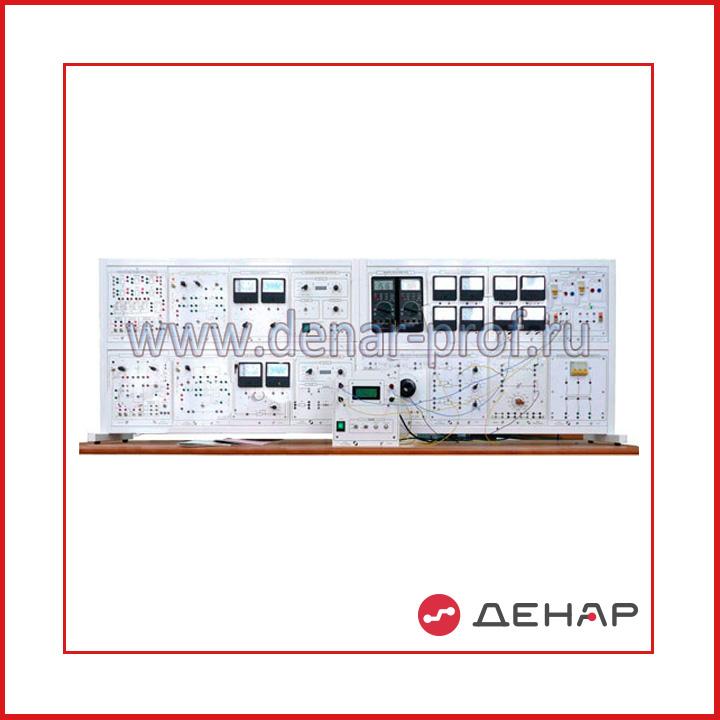 Типовой комплект учебного оборудования «Электрические цепи и основы электроники», исполнение настольное ручное (ЭЦиОЭ-НР)