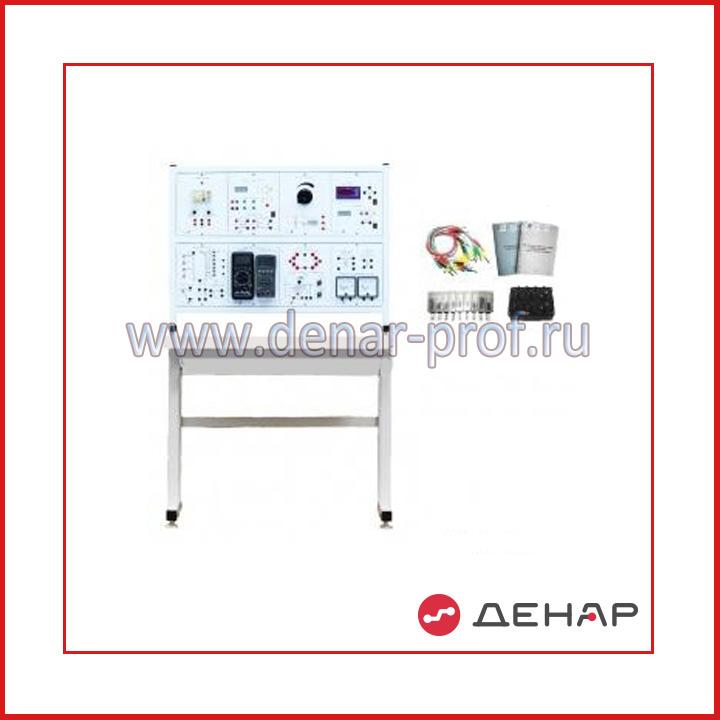 Типовой комплект учебного оборудования «Электрические измерения и основы метрологии», стендовый вариант, ручная версия