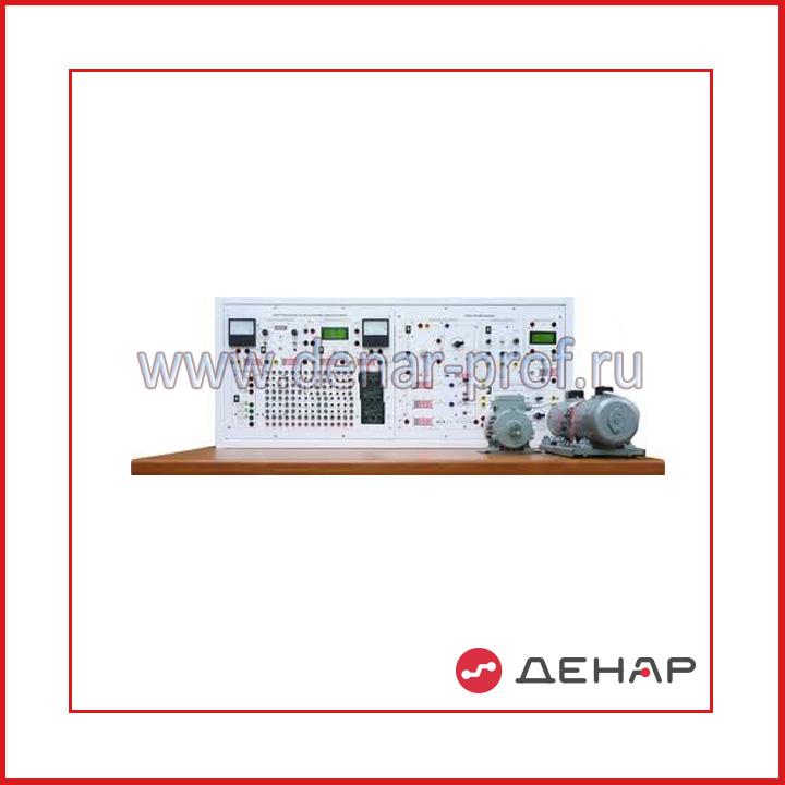 Типовой комплект учебного оборудования «Электротехника и основы электроники», исполнение стендовое ручное 2 моноблока (ЭТиОЭ-М2-СРМ)