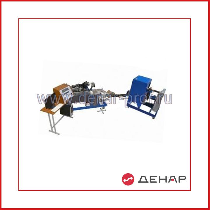 Стенд «Автоматизированное исследование внешних характеристик бензинового четырехцилиндрового двигателя»