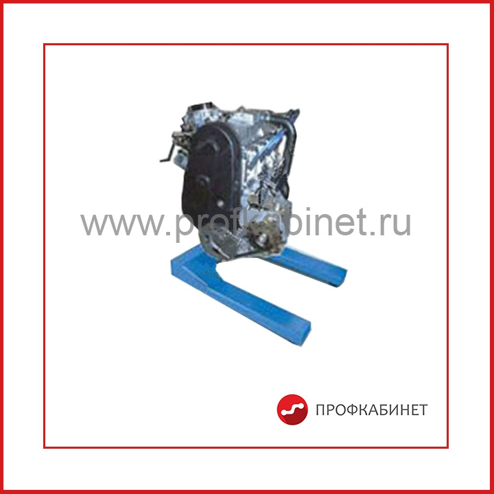 Стенд-тренажер  (разборка-сборка) «Бензиновый ДВС ВАЗ-2106»