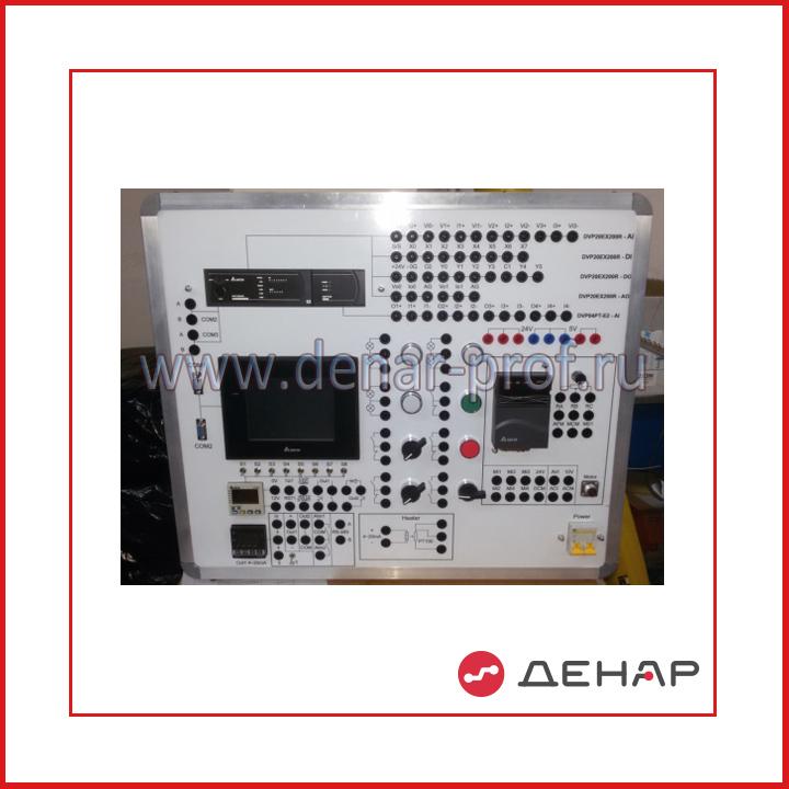 """Типовой комплект учебного оборудования  """"Промышленная автоматика – программируемый контроллер и преобразователь частоты фирмы Delta"""", исполнение настольное, компьютерное  (ПА-Delta-НК)"""