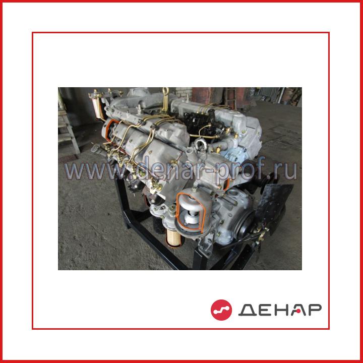 02.06.03.3 Двигатель грузового автомобиля КАМАЗ в разрезе с навесным оборудованием (агрегаты в разрезе)