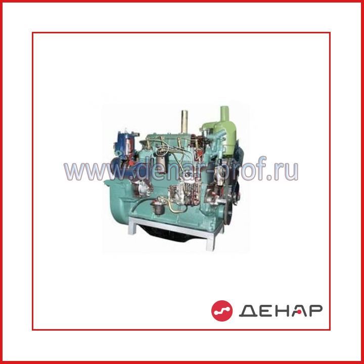 Двигатель сельскохозяйственных машин СМД -15 (22) (агрегаты в разрезе)